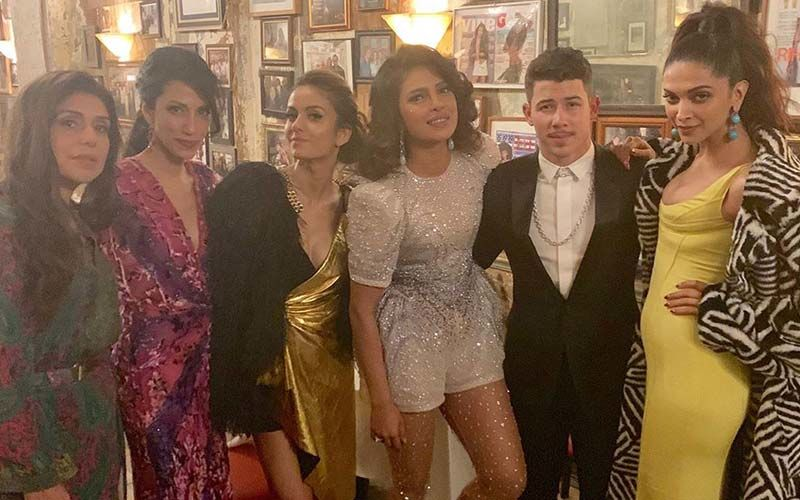 Priyanka Chopra, Nick Jonas And Deepika Padukone Chill Together Post MET Gala 2019 - SEE PIC