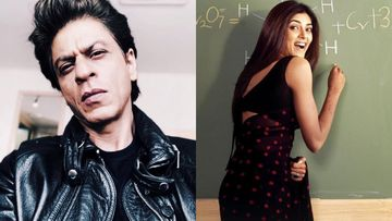 Shah Rukh Khan Directs A Fan's Question To His Chemistry Teacher Sushmita Sen, Giving Us All The Main Hoon Feels