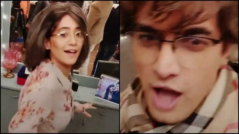 Yeh Rishta Kya Kehlata Hai: Shivangi Joshi And Mohsin Khan Shaking A Leg To Auntyji In Their 2050 Avatars Is Hilariously Adorable - VIDEO