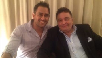 Rishi Kapoor Demise: MS Dhoni And Sakshi Remember The Late Actor With An Unseen Pic, 'We Loved Him Like Many Others'