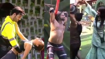 Mujhse Shaadi Karoge: Ladies SEDUCE Paras With Raunchy Pole Dance; Balraj Syal Goes Shirtless To Impress Shehnaaz – VIDEO