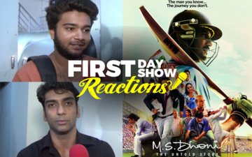 First Day First Show Reactions: M.S. Dhoni: The Untold Story Gets Junta's Thumbs Up!