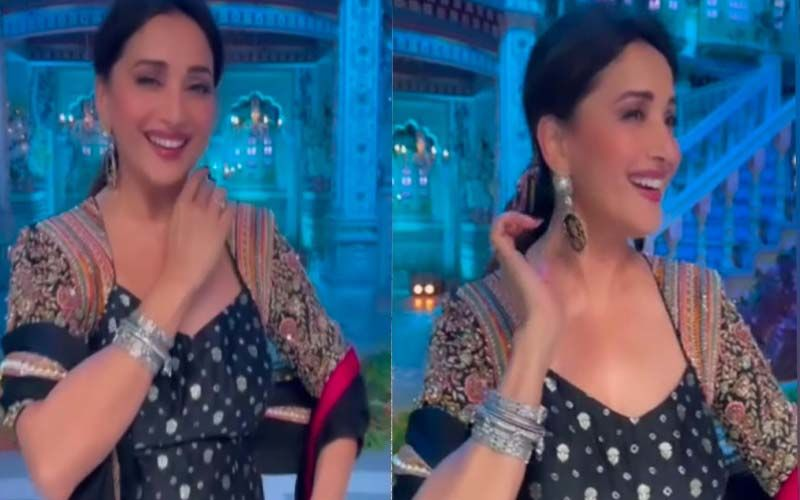 Dance Deewane 3: Madhuri Dixit Won't Let You Take Your Eyes Off Her As She Grooves To 'Kajra Mohabbat Wala'-WATCH