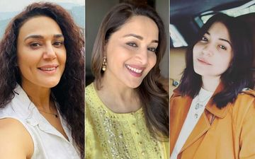 Madhuri Dixit Leaves Anushka Sharma And Preity Zinta In Splits With Her 'Model Face'- WATCH VIDEO