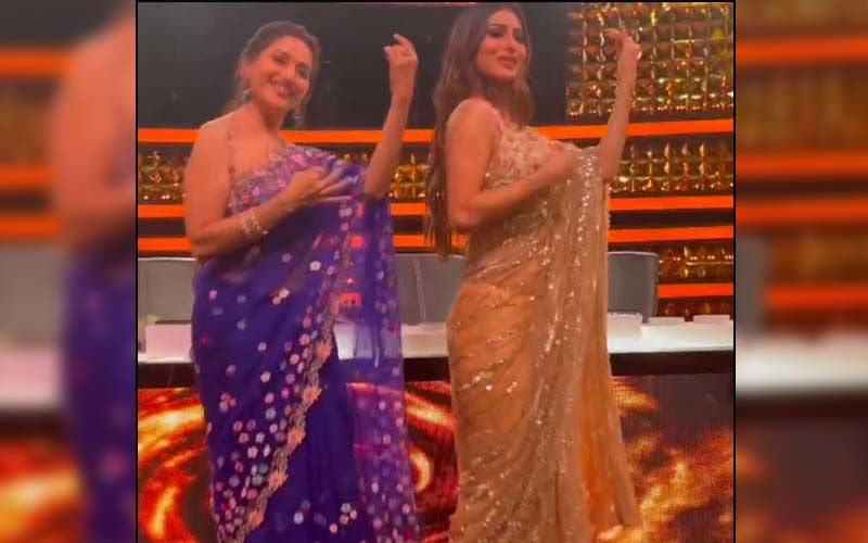 Dance Deewane 3: Madhuri Dixit And Mouni Roy Mesmerise Everyone With Their Groovy Moves On 'Maye Ni Maye' -WATCH
