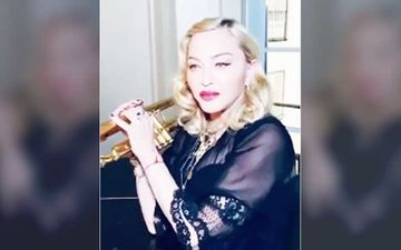 Madonna Bares It All In A See-Through Bra In Latest Post; Backs The Pic With A Sassy Disclaimer For The Offenders