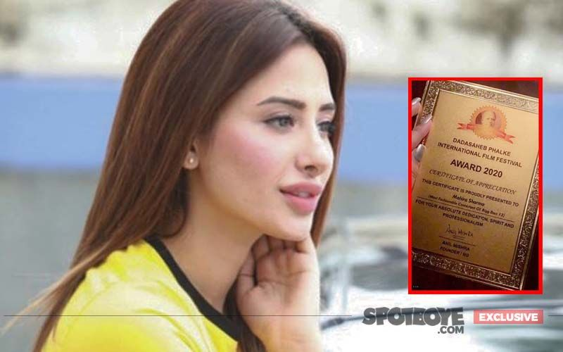 Mahira Sharma's SHOCKING DISCLOSURE On Her Dadasaheb Phalke CONTROVERSY: 'Many Actors Have Received Similar Certificates But Won't Admit'- EXCLUSIVE