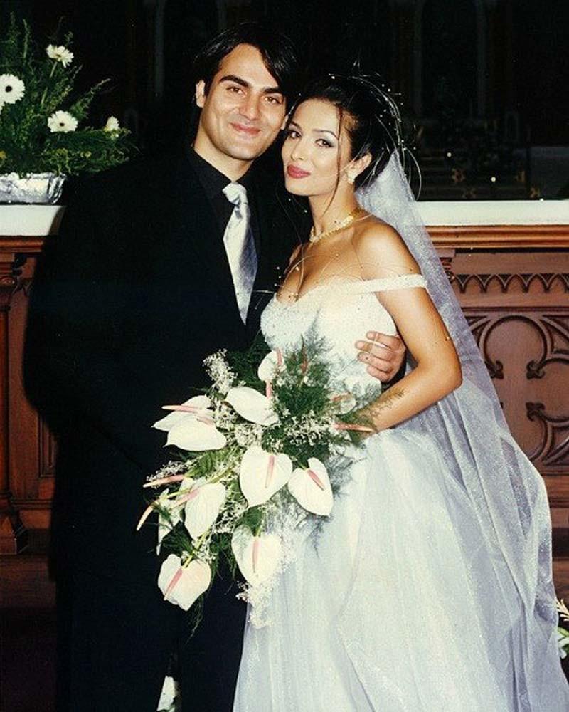 Malaika And Arbaaz Wedding Picture