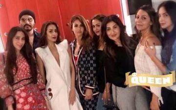 Malaika Arora's Girl Gang Parties With Punjabi Munda Arjun Kapoor