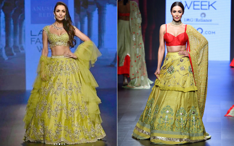 Malaika Arora Walks The Ramp At LFW
