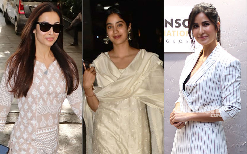 Celeb Spotting: Malaika Arora-Janhvi Kapoor Go The Ethnic Way, Katrina Kaif Slays It In Formals