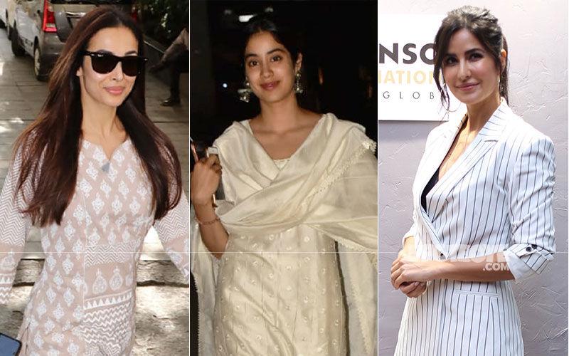 Celeb Spotting: Malaika Arora-Janhvi Kapoor Go The Ethnic Way, Katrina Kaif Slays It In Formals