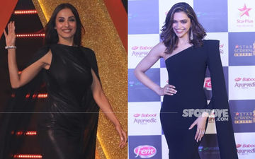 Malaika Arora Or Deepika Padukone- Which Diva Added Extra Zing To The Black Cape Gown?