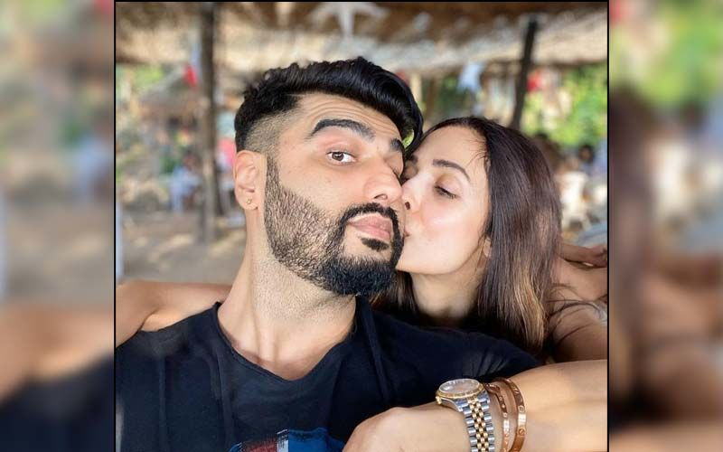 Arjun Kapoor Twins With Ladylove Malaika Arora's Son Arhaan Khan; Trio Gets Clicked After Easter Celebrations With Family