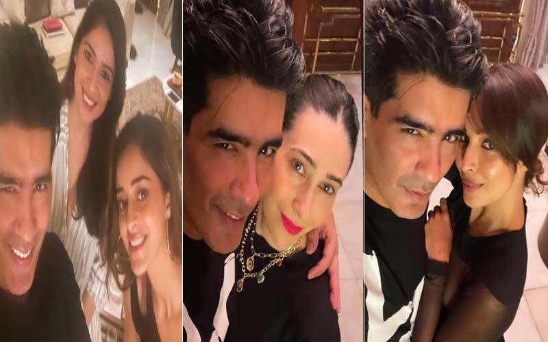 Ananya Panday, Malaika Arora, Karisma Kapoor Are Beauties In Black At Manish Malhotra's House Party; Gauri Khan, Maheep Kapoor And Others Also Mark Their Presence
