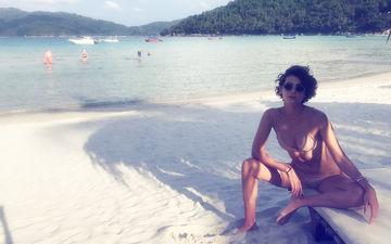 Mandana Karimi Is Missing The Sun-Kissed Malaysian Beaches