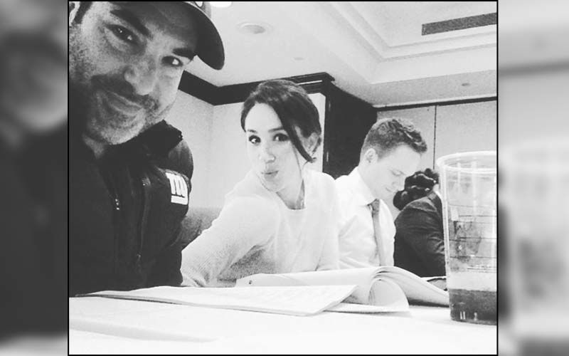 Rick Hoffman Shares A Throwback Selfie With Suits Co-stars Meghan Markle And Patrick J Adams; Says 'A Long Time Ago In A Galaxy Far Far Away'