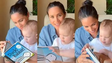 Meghan Markle Unveils Son Archie's LATEST Glimpse On His First Birthday As She Does A Story-Telling Session With Her Munchkin – VIDEO