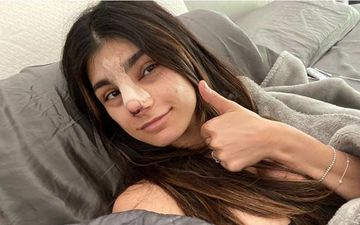 Former Porn Star Mia Khalifa Gets A Nose Job To Make It More Feminine; Preaches All To Not Idolise Women As Seen On Social Media