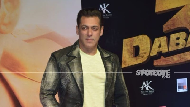 Salman Khan Goes Into Self-Isolation As Personal Driver And Two Staff Members Test Positive For Coronavirus - REPORTS