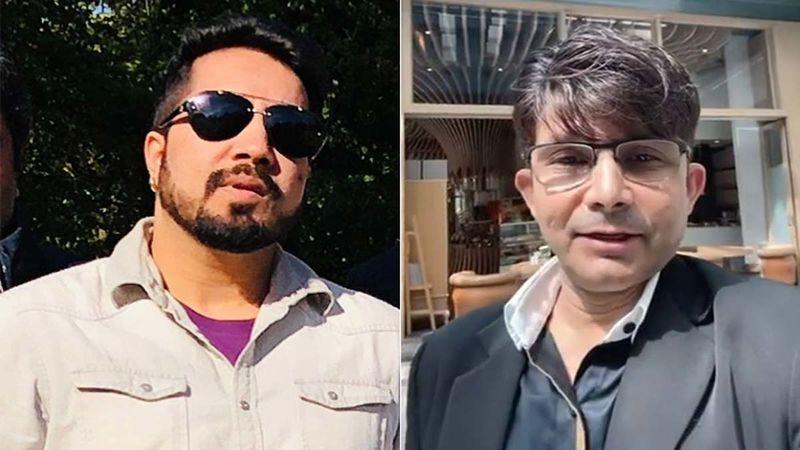 Mika Singh Visits KRK's Mumbai House, Claims He Has Fled; Says 'You Are My Son; Wapas Aaja, Darr Mat'