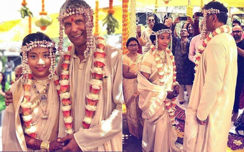 मिलिंद सोमन और अंकिता कोंवर ने रचाई शादी, देखिए मंडप से सीधी तस्वीरें