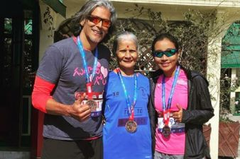 Milind Soman Shares His Experience Of Running A 21 KM Marathon Post Lockdown; Mom And Wife Give Him Company