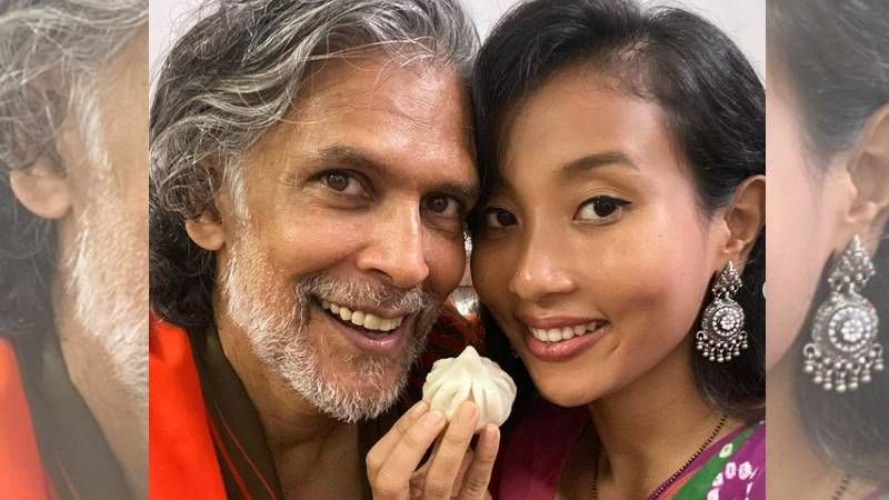 Milind Soman's Anniversary Post Wishing Wifey Ankita Is All Things Love; Shares A Cosy Picture Writing 'My Favorite Place Is Still Here, In Your Arms'
