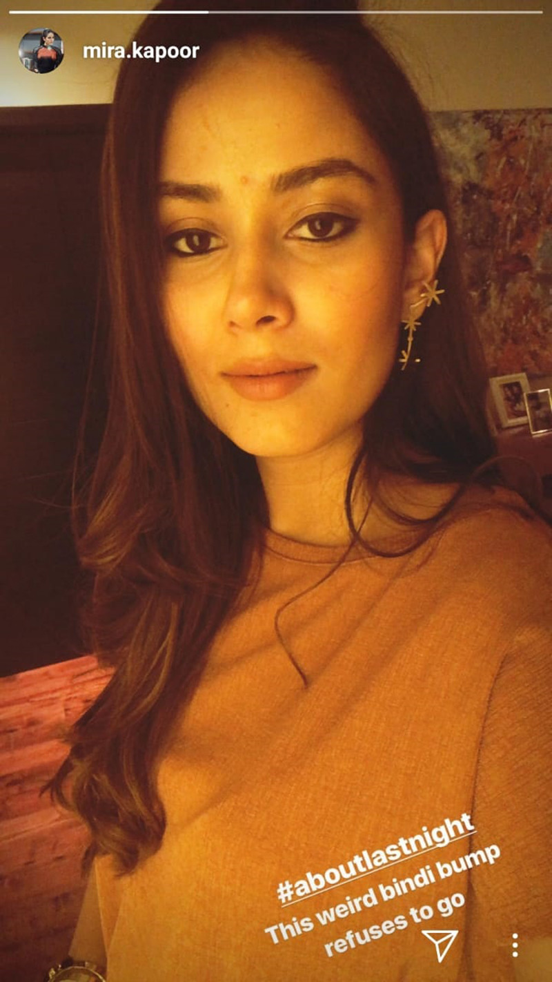 Mira Rajput Has A Bindi Bump