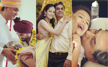 Mira Rajput Gets Nostalgic On Father's 60TH Birthday; Shares Candid Clicks With Him, Shahid Kapoor And Misha