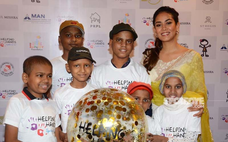 Mira Rajput Lends Support For A Noble Cause, Gets Papped With NGO Kids