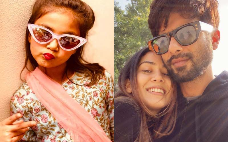 Shahid Kapoor And Mira Rajput's Daughter Misha Is All Grown Up; Birthday Girl Looks Cute As A Button As She Does The 'V' Pose