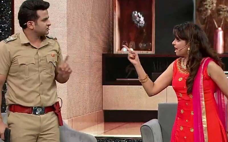 Zee Comedy Show: Sugandha Mishra Goes Off Script To Talk About Having Babies; Leaves Husband Sanket Bhosle Shocked