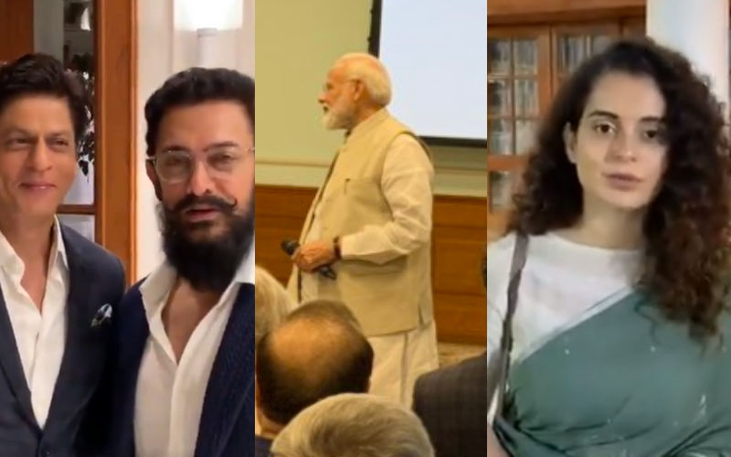 PM Narendra Modi Launches Change Within: Shah Rukh Khan, Aamir Khan, Kangana Ranaut And Others Grace The Event