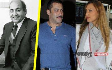 Salman Buys Rafi Song For Girlfriend Iulia Vantur