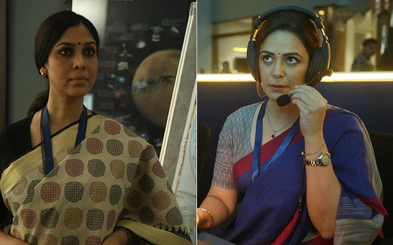 These Stills From Mona Singh, Sakshi Tanwar's MOM - Mission Over Mars Are Captivating And How!