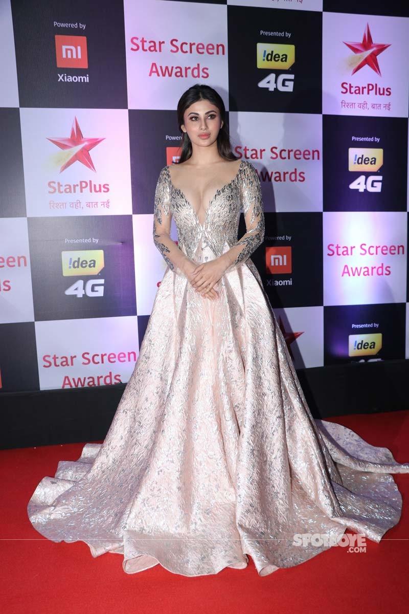 Mouni Roy At Star Screen Awards 2018