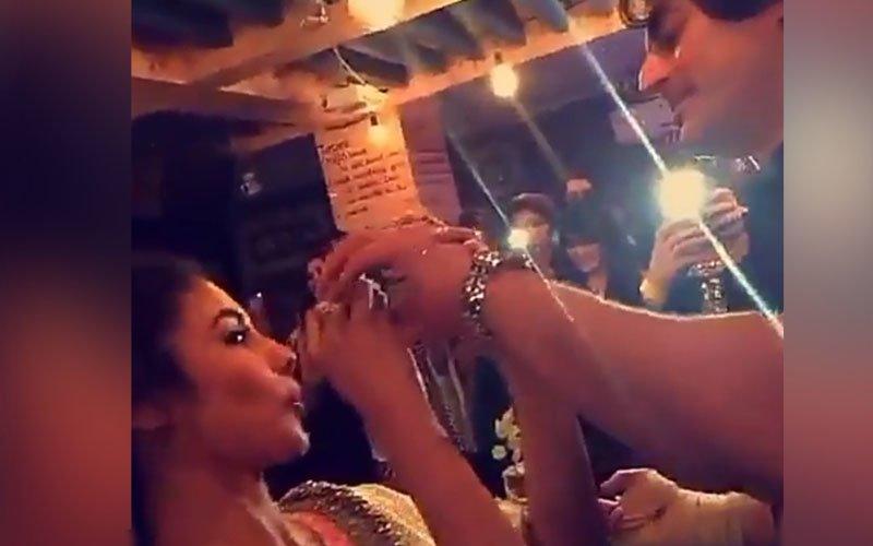 Mouni Roy Rings In Her Birthday With Boyfriend Mohit Raina