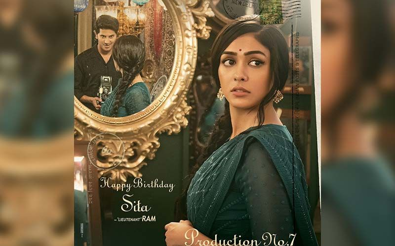Production No.7: On Mrunal Thakur's Birthday, Her First Look As Sita From Dulquer Salmaan's Next Revealed By The Makers