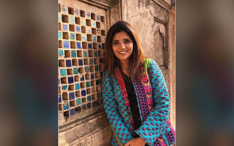 Mukta Barve Is Spending The Holidays With Family At Historical Khajurao In Madhya Pradesh