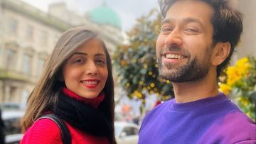 Lovebirds Nakuul Mehta And Jankee Parekh Go All Mushy In Rajasthan On Their Eight Wedding Anniversary