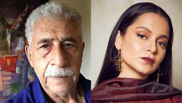 Did Naseeruddin Shah Take A Dig At Kangana Ranaut? Says, 'Not Interested In Opinions Of Half Educated Starlet'