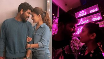 South Sensation Nayanthara And Boyfriend Vignesh Shivan Paint Miami Red With Love On Former's Birthday – PICS
