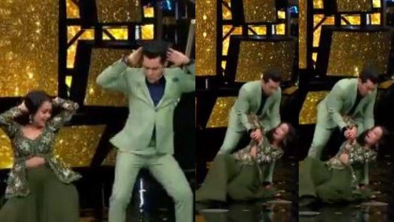 Indian Idol 11: Neha Kakkar Has An OOPS Moment As She Falls While Shaking A Leg With Host Aditya Narayan – VIDEO INSIDE