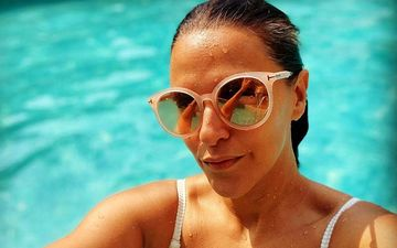 Preggers Neha Dhupia Stuns Fans In A Swimsuit Proudly Flaunting The Baby Bump: PICTURES Go Viral