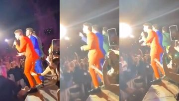 Nick Jonas Gets Annoyed AF After A Fan Tries To Grab His Butt Mid-Concert – VIDEO INSIDE