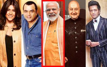 Lok Sabha Election 2019 Results: Ekta Kapoor, Paresh Rawal, Anupam Kher, Riteish Deshmukh Congratulate PM Modi