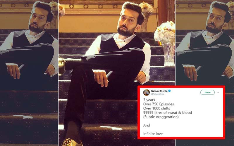 "Ishqbaaaz: ""99999 Litres Of Sweat And Blood,"" Nakuul Mehta Gets Emotional As Show Nears Its End!"
