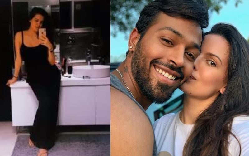 Preggers Natasa Stankovic Shows Off Her Baby Bump In A Bathroom Selfie; Hardik Pandya's Wifey Is Glowing And How