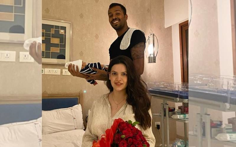 Hardik Pandya's Wifey Natasa Stankovic's Latest Pictures With Baby Boy Are Cuteness Personified